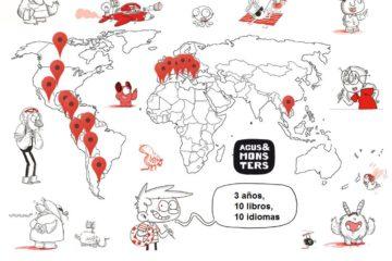 Agus y los monstruos: 10 títulos, 10 idiomas