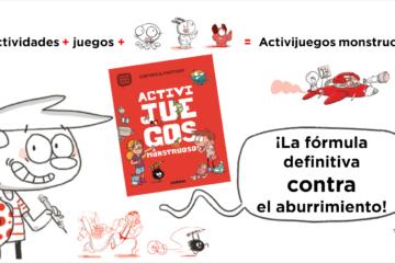 Activijuegos monstruosos de Agus and monsters