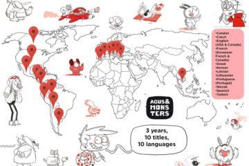 L'Agus i els monstres: 10 títols, 10 llengües