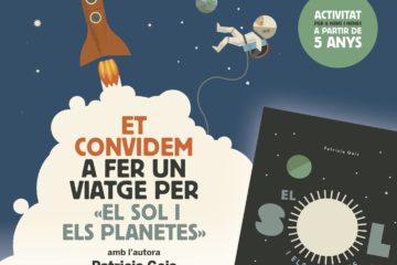 """Patricia Geis ens convida a fer un viatge per """"El Sol i els planetes"""""""