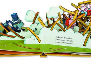 Los Tres Cerditos: cuentos para contar, jugar y experimentar