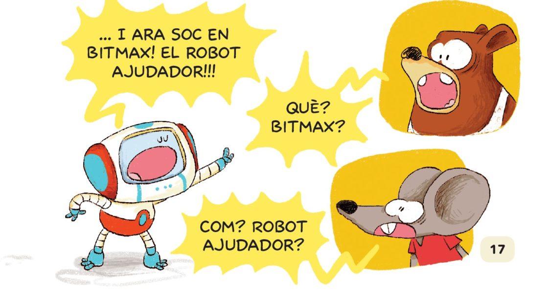 bitmax el robot del bosc