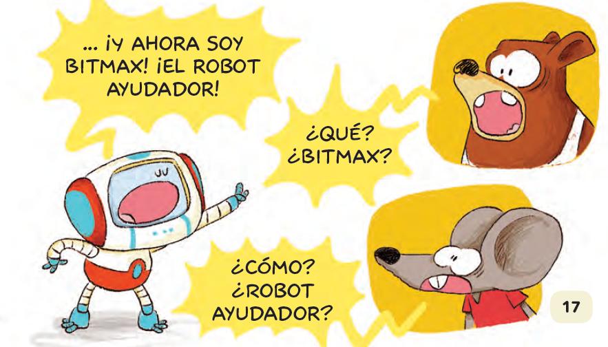 bitmax el robot del bosque