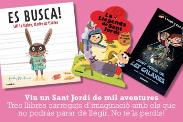I tu, què llegiràs per Sant Jordi?
