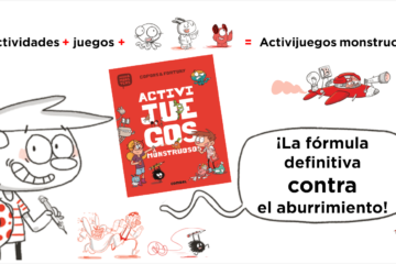 Activijuegos monstruosos de Agus and monsters
