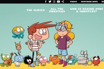 The new website of Agus & Monsters is now live!